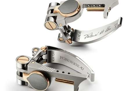 Repurposed Weapon Accessories - Fonderie 47's Jewelry is Made Out of AK-47 Rifle Parts