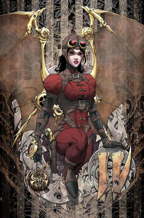 Female Steampunk Renderings