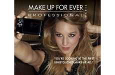Photoshop Boycott Beauty Contests - Make Up For Ever Unretouched Campaign is All About the Makeup