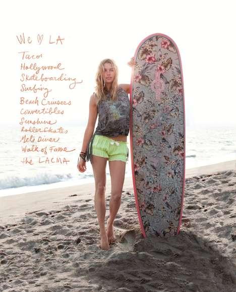 Sun-Soaked Surfing Snapshots