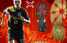 Tentacled Football Shoes - The Octopax Soccer Cleat is Inspired by the Undersea Anomaly