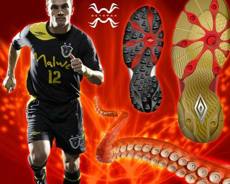 Tentacled Football Shoes