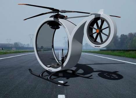 Circular Single-Seat Choppers