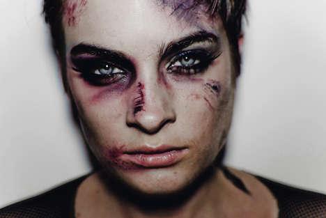 Violent High-Fashion Depictions