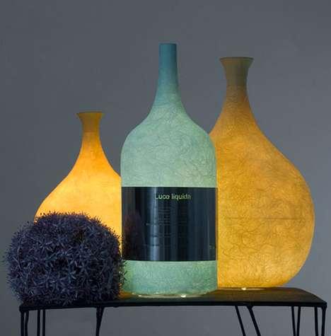 Bottled Light Fixtures