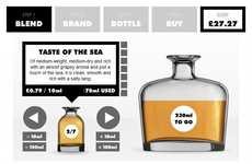 Customized Scotch Labels - 'The Whisky Blender' Website Personalizes Your Experience