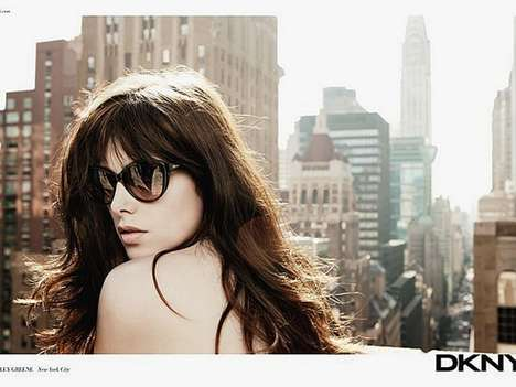The Ashley Greene DKNY Spring Campaign Shots are a Hot Item
