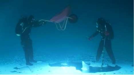 Anti-Gravity Ice Fishing