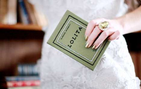 Repurposed Novel Purses - The Olympia Le Tan's 'Lolita' Book Clutch is More Than Meets the Eye