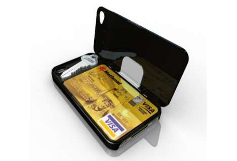 Concealed Compartment Phone Covers