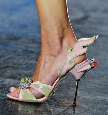 The Prada Spring 2012 Footwear is Fierce and Futuristic