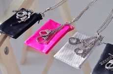 Cash Carrying Jewelry - These Wallet Necklaces will Save Your Shoulder a Lot of Strain