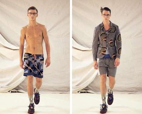 Hodgepodge-Patterned Menswear