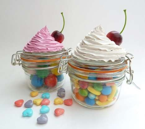 Dessert-Topped Containers