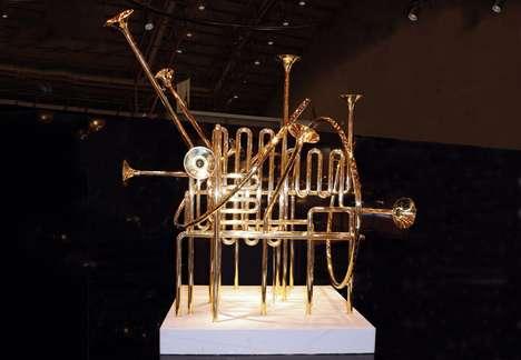Intricate Instrument Exhibits