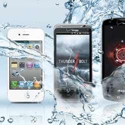 Waterproof Phone Coatings