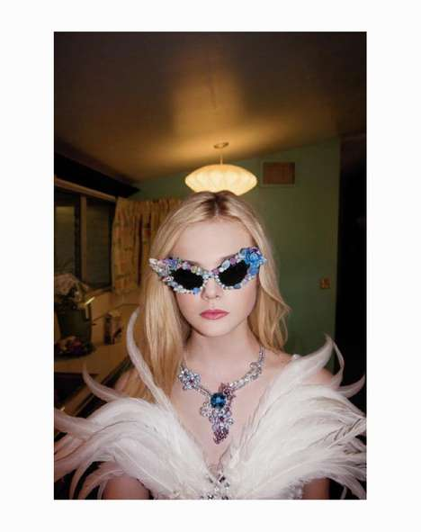 The Elle Fanning A Magazine Photo Shoot Dresses the Star in Rodarte