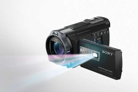 Sony's New Handycam Camcorder is Unveiled at the 2012 CES