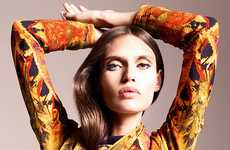 Print Overload Maxidresses - The Bianca Balti Vogue Mexico Photo Shoot is 70s Chic