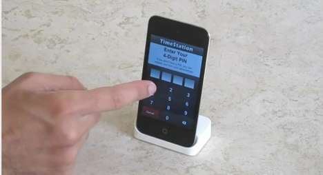 Smartphone Clock-Ins