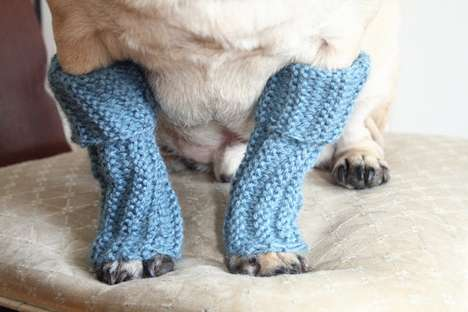These Snuggly Dog Leg Warmers Will Keep Your Pooches Legs Warm