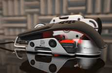 Ergonomic Adjustable Peripherals - The Level 10 M Mouse by DesignworksUSA for Thermaltake