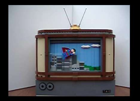 Scrolling LEGO TV Shows