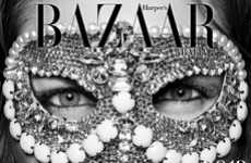 Crystal-Adorned Calendar Pages - The Harper's Bazaar Arabia 2012 Calendar Sparkles and Shines