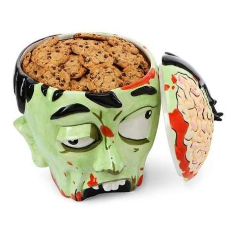 The Zombie Head Cookie Jar Will Have You Engaging in Cannibalism