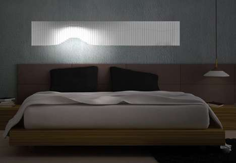Flowing Headboard Illuminators