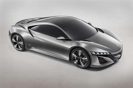 Redesigned Hybrid Supercars