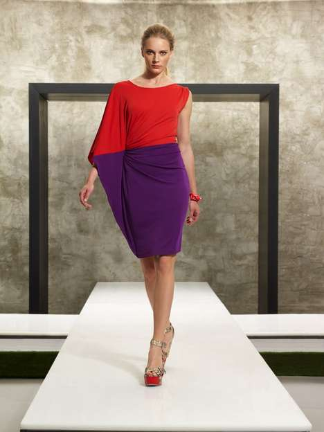 Bright Color-Blocked Looks