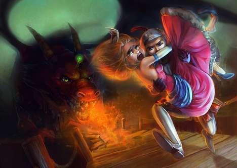 Anime Fairy Tale Artistry