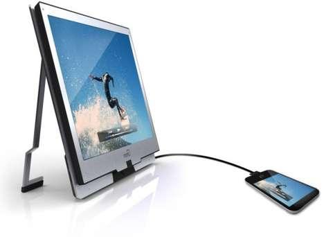 Sweeping Smartphone Displays