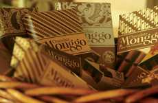 Textile-Inspired Wrappers - Monggo Chocolate Packaging Expresses the Elegant Detail of Batik Dyeing