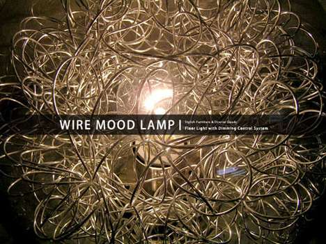 The Wire Mood Lamp Will Cast a Fantastical Shadow on Your Walls