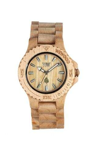 Eco-Luxury Timepieces - The WEWOOD Watch is Made of 100% Natural Wood