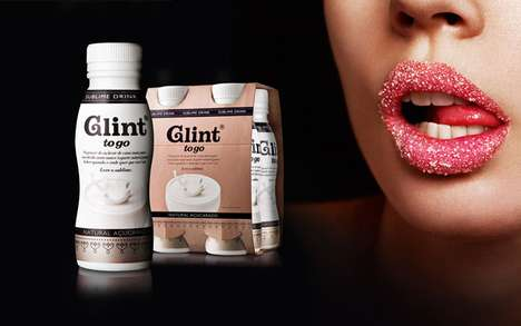 Sweetly Seductive Packaging - Glint is Swathed in Delicious Sensuality