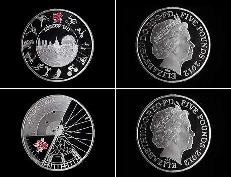 Olympic Collectors Cash - Five Pound Commemorative Coins for London 2012
