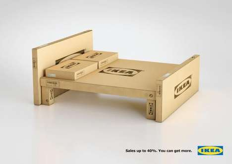 Boxy Bed Advertising