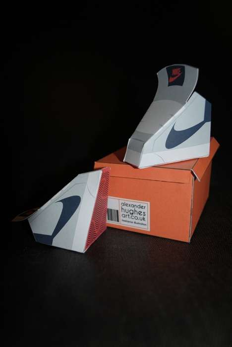Iconic Paper Sneakers