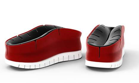 Half-Complete Concept Footwear