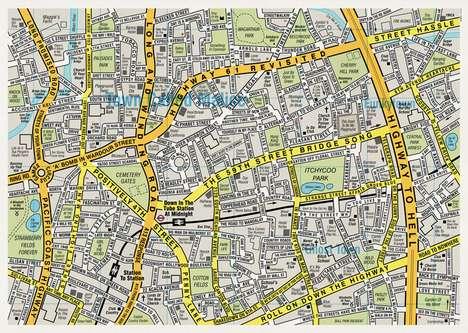 Music-Inspired Maps