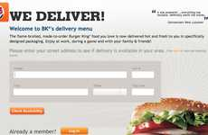 Fast Food Deliveries - Burger King is Testing Out BK Delivery Service in Select States