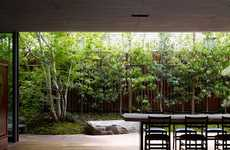 Green-Filled Abodes - Tokyo's House S Features a Garden on Each Level of the Home