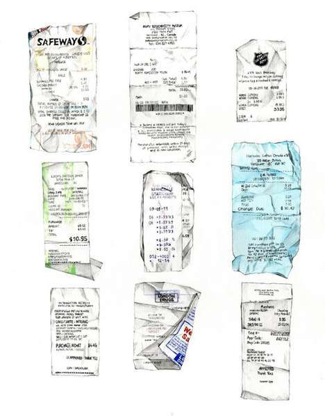 Realistically Rendered Receipts