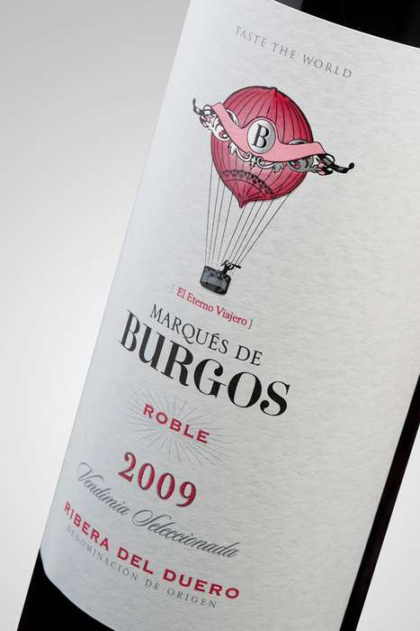 Adventurous Vino Packaging