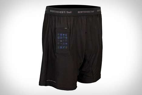 Secret Compartment Underwear