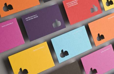 Colorfully Fresh Business Cards