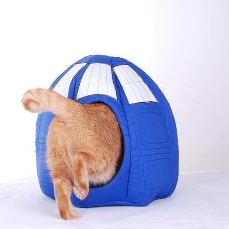 Sci-Fi Cat Beds